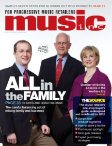Music Inc. Magazine