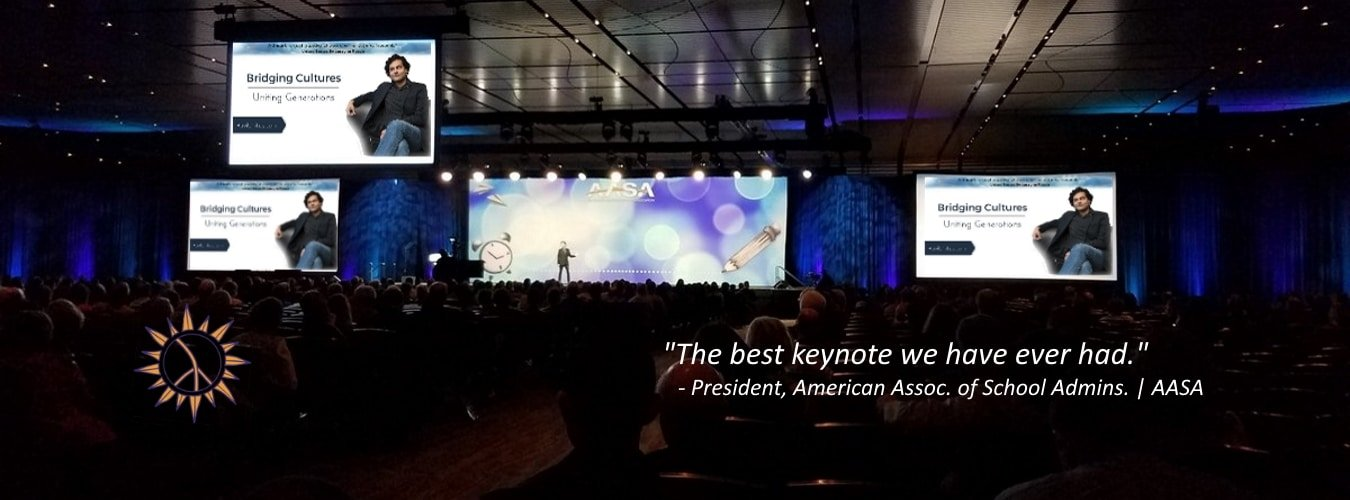 Ravi's Keynote Typically Earns the Highest Rating of All Speakers at an Event