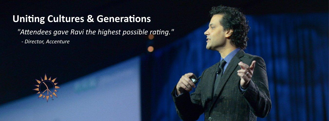 Ravi Hutheesing, International Keynote Speaker & Cultural Catalyst
